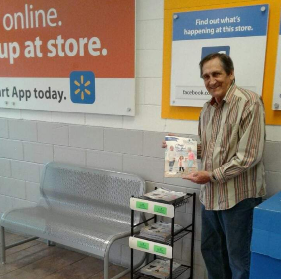 OurSeniors.net Magazine in Walmart