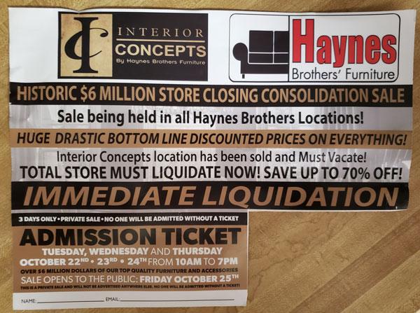 Haynes Brothers' Furniture