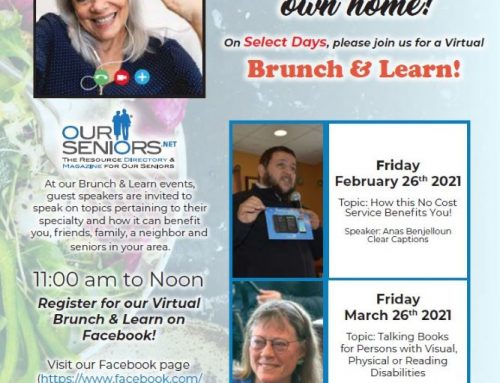 Join us tomorrow for our Virtual Brunch & Learn