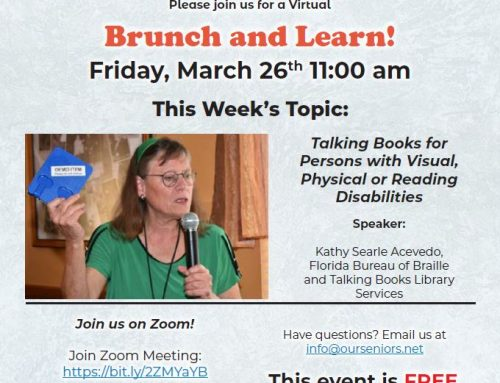 Virtual Brunch & Learn, Mar 26th